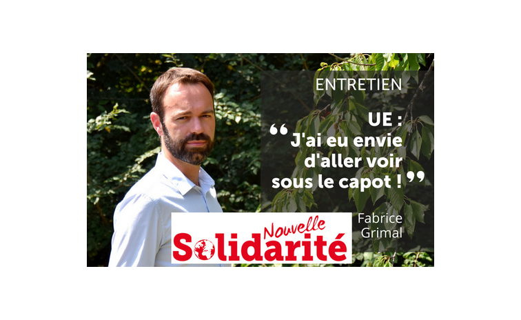 Nouvelle Solidarité : Entretien avec Fabrice Grimal